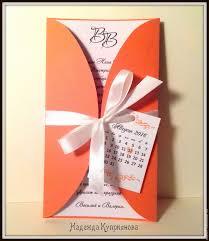 Wedding Invitation Card Online Shopping Buy Wedding Invitation With Calendar On Livemaster Online Shop