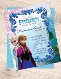 frozen birthday invitations orionjurinform com