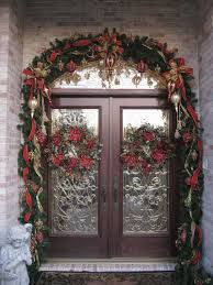 beautiful front doors for christmas christmas full image for
