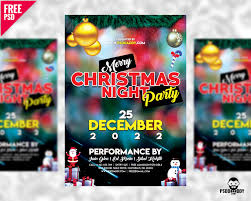 party flyer free merry christmas party flyer free psd u2013 uxfree com