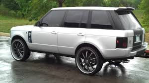 lifted range rover range rover on 26 inch lexanis youtube