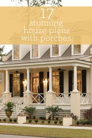 southern living house plans with side porches