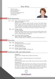 curriculum vitae format pdf 2017 w 4 resume format pdf simple pdf 10 template for fresher free word