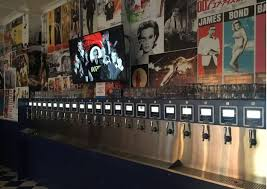 Craft Beer Bar In New York Where You Pour Your Own Beer On Tap Bar