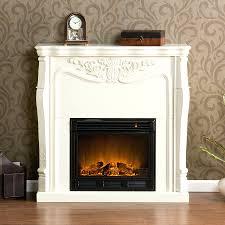 ivory electric fireplace with bookshelves u2013 amatapictures com
