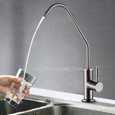 healthy stainless steel water purifier cold water kitchen faucet