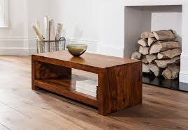 Open Coffee Table Handcrafted Solid Wood Coffee Table Casa Furniture Uk