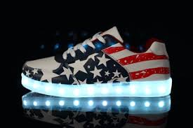 light up sneakers light up shoes led sneakers by nitelifetshirts