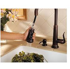 kitchen faucet bronze rustic bronze ashfield 1 handle pull kitchen faucet gt529