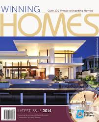 2014 master builders queensland winning homes magazine by ark