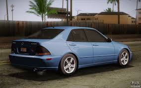 tuned lexus is300 lexus is300 2003 for gta san andreas