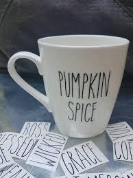 rae dunn mug rae dunn inspired decals hot mess rae dunn mug rae dunn