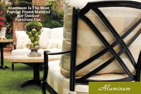 Outdoor Material For Patio Furniture by Aluminum Outdoor Furniture And Patio Furniture
