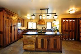 collection in rustic kitchen island lighting related to home
