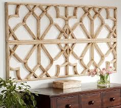wood lattice wall lattice wall pottery barn