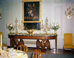 kn c17311 state dining room tables and floral arrangements for