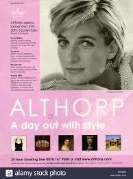 Housemagazine by 2000s Uk Althorp House Magazine Advert Stock Photo Royalty Free
