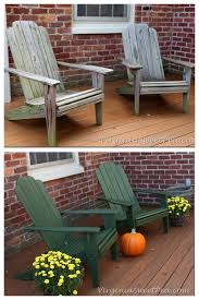 Paint For Outdoor Plastic Furniture by 12 Outdoor Furniture Makeovers Easier Than You Think
