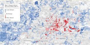 London Canada Map by Savills Uk Gentrification Of London