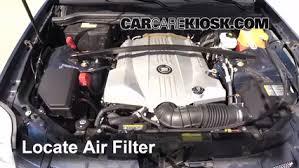 2007 cadillac cts gas mileage 2004 2009 cadillac srx engine air filter check 2006 cadillac srx