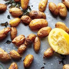 Easter Side Dishes Roasted Potatoes With Oregano And Lemon