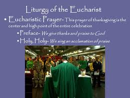 the liturgy of the eucharist celebrating jesus presence in the