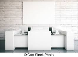 White Reception Desk Reception Desk Clipart And Stock Illustrations 1 800 Reception