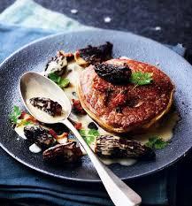 comment cuisiner des morilles fraiches tournedos aux morilles sauce au foie gras