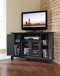 Tv Stands With Bookshelves by Tv Stands Impressive Large Black Tv Stand Images Inspirations