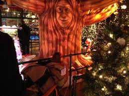 santa land talking tree picture of macy s herald square new