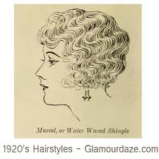 shingle haircut the 1920s also known as the roaring 1920s hairstyles marcel or water waved shingle vintage hairstyles