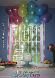 New Home Party Decorations Interior Design New Rainbow Themed Birthday Party Decorations