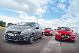 peugeot cars price list usa peugeot 208 vs mazda 2 u0026 hyundai i20 auto express