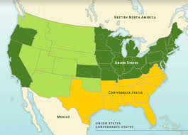 map of usa showing southern states americans do you consider maryland a northern or southern state