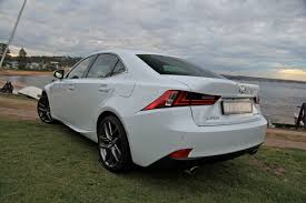 white lexus is 250 red interior 2013 lexus is250 review caradvice