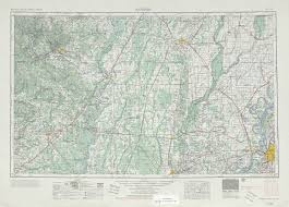 Arizona Topographic Map by Memphis Topographic Map Sheet United States 1953 Full Size