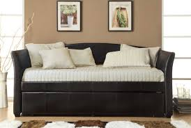 Daybed With Trundle And Mattress Bedroom Black Daybed Trundle With White Mattress