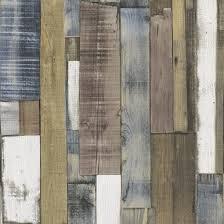 fine decor wallpaper wooden plank metallic brown lancashire