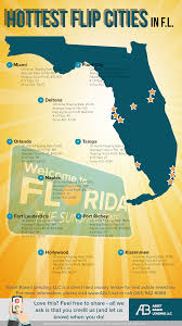 Cities In Florida Map by These Are The Most Popular Fix And Flip Cities In Florida