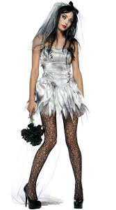 Halloween Costumes Death Death Zombie Bride Costume Zombie Corps Bride
