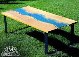 river coffee table river table by makarios decor free shipping