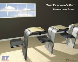 Modern School Desks A Better School Desk Yanko Design