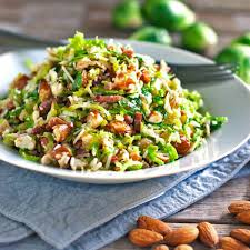 thanksgiving brussel sprouts bacon bacon and brussel sprout salad recipe pinch of yum