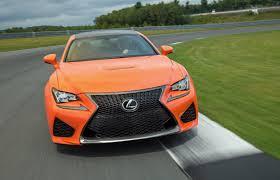 lexus rc f in orange orange lexus rc f on track exterior and interior youtube