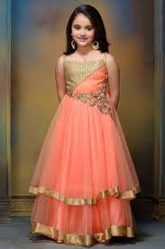 traditional style trendy kids lehenga choli dresses for 2016