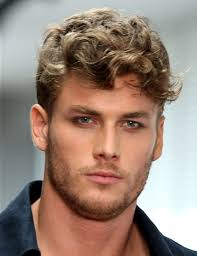 curly thick hairstyles men