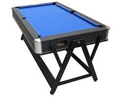 pool and air hockey table eddie charlton pool air hockey table blue cloth 6 foot