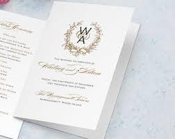 catholic wedding ceremony program catholic church wedding program vienna black