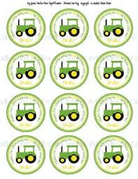 deere cake toppers printable diy file deere inspired party decorations