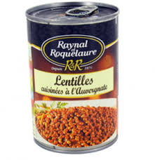 lentilles cuisiner lentilles cuisinées à l auvergnate de raynal et roquelaure avis et